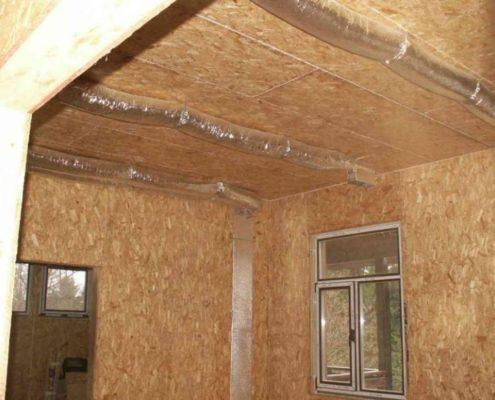 Воздушное отопление в доме